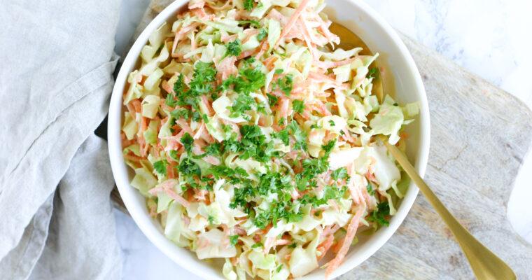 Sommer coleslaw